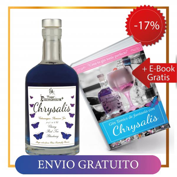 Pack botella chrysalis + libro de recetas